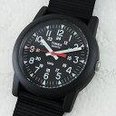 国内正規品 タイメックス 時計 メンズ 腕時計 キャンパー ブラック ...