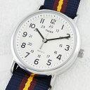 国内正規品 タイメックス 時計 メンズ 腕時計 ウィークエンダー ナイロンベルト ネイビー T2P234 ビジネス 男性 ブランド 誕生日 お祝い クリスマスプレゼント ギフト お洒落