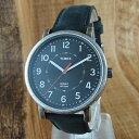 【アウトレット】国内正規品 タイメックス 時計 メンズ レディース ユニセックス 腕時計 アンティーク調 クラシック ブラック レザー T2P219 ビジネス 男性 ブランド 誕生日 お祝い クリスマスプレゼント ギフト お洒落