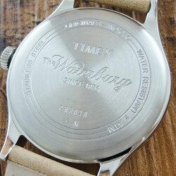 国内正規品タイメックス時計メンズ腕時計ウォーターベリーレッドウィングタンレザーTW2P83900