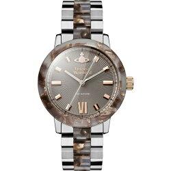 ヴィヴィアンウエストウッド時計レディース腕時計ブラウンステンレスブレスレットVV165BRSL