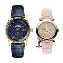 ヴィヴィアン ウエストウッド 腕時計 ペアウォッチ メンズ レディース ダークブルー ピンク レザー 革ベルト VV065BLBLVV006PKPK ペアセット カップル ブランド 誕生日 お祝い プレゼント ギフト・・・