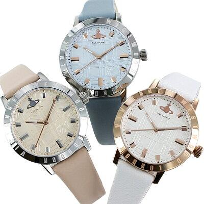 ヴィヴィアンウエストウッド レディース 腕時計 水色 ピンク 白 レザーウォッチ 時計 誕生日 お祝い ギフト 彼女 妻 奥さん 娘 女性友達 贈り物 2021年 母の日