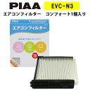 PIAA エアコンフィルター コンフォート 1個入 [日産車用] ...