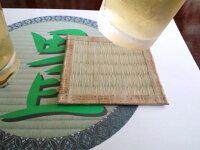 【送料込み】畳のコースター制作キット(5枚入り)(い草の香りをお部屋に)【和雑貨和小物たたみタタミ畳い草いぐさ工作クラフトプレゼントギフトみやげ土産贈り物】