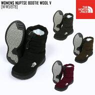 THENORTHFACEノースフェイスブーツヌプシブーティーWNUPTSEBOOTIEWOOLIII靴NFW51786レディーススノーブーツ