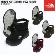 THENORTHFACEノースフェイスブーツヌプシブーティーWNUPTSEBOOTIEWOOLIISHORT靴NFW51787レディーススノーブーツ