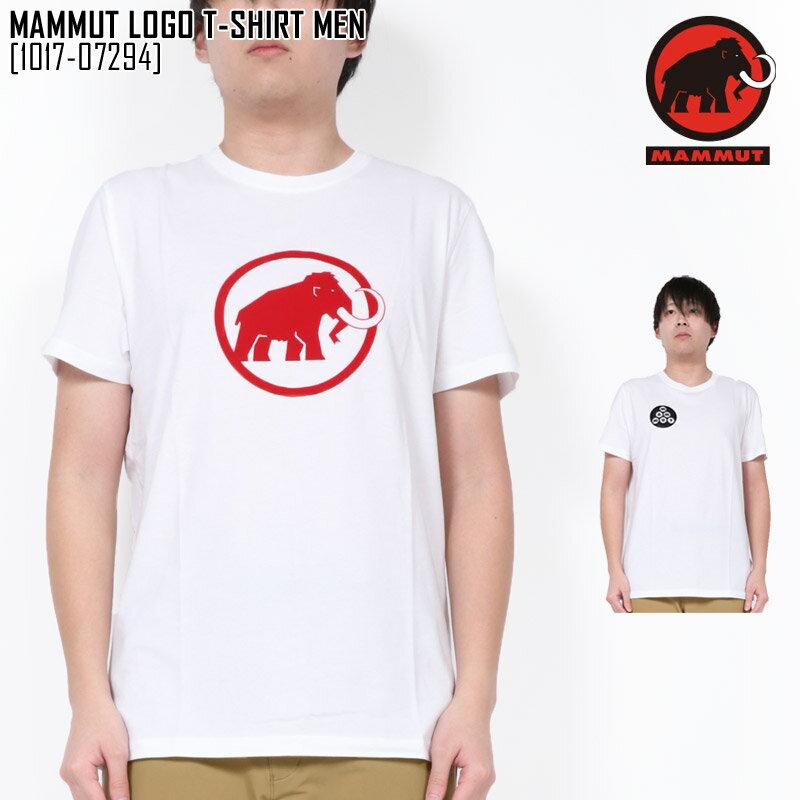 セール マムート 1017-07294 Tシャツ メンズ 半袖 アウトドアブランド MAMMUT LOGO T-SHIRT MEN