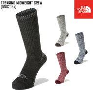 THENORTHFACEノースフェイス靴下TREKKINGMIDWEIGHTCREWソックスNN81720メンズレディース