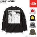 新作 THE NORTH FACE ノースフェイス ロングスリーブ スリーブ グラフィック ティー L/S SLEEVE GRAPHIC TEE Tシャツ トップス NT32042 メンズ