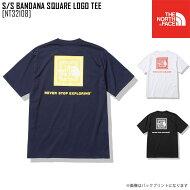 新作 THE NORTH FACE ノースフェイス ショートスリーブ バンダナ スクエア ロゴ ティー S/S BANDANA SQUARE LOGO TEE Tシャツ トップス NT32108 メンズ