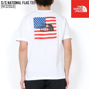 SALE セール ノースフェイス THE NORTH FACE NT32053 S/S ナショナル フラッグ ティー S/S NATIONAL FLAG TEE Tシャツ トップス メンズ
