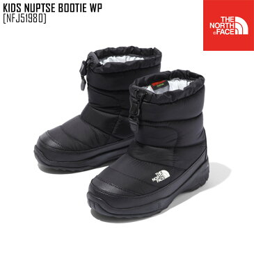 セール SALE ノースフェイス THE NORTH FACE キッズ ヌプシ ブーティー ウォータープルーフ KIDS NUPTSE BOOTIE WP ブーツ 靴 NFJ51980 キッズ