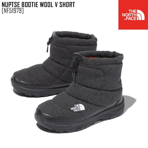 ノースフェイスTHENORTHFACEヌプシブーティーウールVショートNUPTSEBOOTIEWOOLVSHORTブーツ靴NF5
