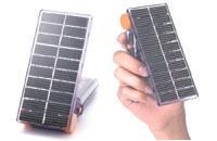 オプション使用で様々な物の充電にバイオレッタソーラーギア