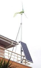 家庭用風力・太陽光ハイブリッドシステム OWL(アウル)