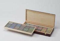 デーラーラウニーソフトパステル96色木箱セットA明るいチント1~2を揃えたセット