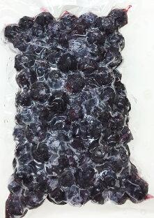 オーガニック冷凍ブルーベリー (カナダ産) 2kg(1000g×2)【消費税込み】 有機栽培、オーガニック ブルーベリーを、真空冷凍加工しました。ポリフェノールやアントシアニンがいっぱい。