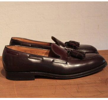 オールデン ALDEN オールデン 563 Tassel Moccasin タッセルモカシン ローファー アバディーンラスト 革靴 ブーツ 送料無料♪ 新品 リジェクト品 バーガンディ
