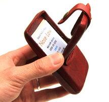 【本格レザーを使ったMADEINENGLANDのレザー小物】esperantoESP-6416ENGLANDKEATHERCARDCASEカードケース名刺ケース☆[エスペラント/カードの収納に/イングランド/ビジネスに♪/レッド/ネイビー/ブラック]