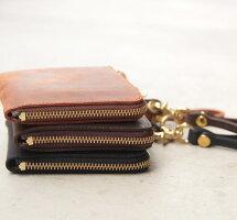 LZipMiniWalletジップ式ミニウォレット本格レザー製クレイジーカーフCRAZYCARFLEATHEResperantoエスペラントESP-6510コンパクトなお財布