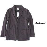 Jackmanジャックマンストレッチ素材StretchJacket在宅ワークテレワーク着心地抜群のジャケットJM8010ストレッチジャケットSumikuroスミクロ希少品!