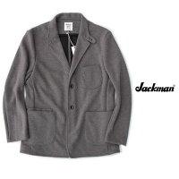 JackmanジャックマンJerseyJacketジャージジャケット在宅ワークテレワーク着心地抜群のジャケットJM8760Grayグレー