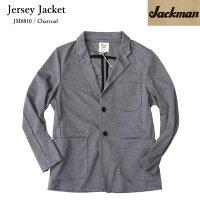 JackmanジャックマンJM8810JerseyJacketジャージジャケットMADEINJAPANChacoalチャコールジャケット