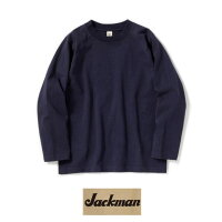 JackmanジャックマンJM7915DotsumeL/SShirt度詰め長袖シャツコットン100%頑丈素材!NAVY