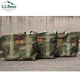 【LLBEAN】ポリエステル素材トートバッグHunter'sToteBag,Zip-Topハンターズ・トート・バッグ、ジップ・トップ