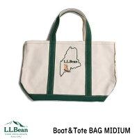 LLBEANエルエルビーントートバッグBoat&Toteボート&トートオリジナルステッチ入り正規品Midiumミディアム