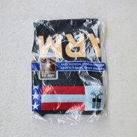USARMYMilitaryデッドストックトレーニングTEETシャツ新品本物実物アメリカ軍米軍アーミーBLACKブラック