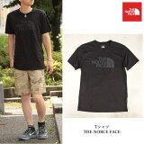 THENORCEFACE(ノースフェイス)TシャツTEEWHITEアメリカ買付商品ブラックBLACKオールブラック