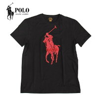 PoloRalphLaurenメンズTEETシャツBLACKブラック