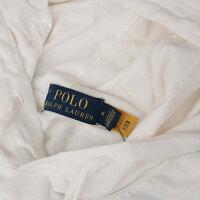 PoloRalphLaurenポロラルフローレンアメリカ買付品USAポロベアメンズプルオーバーパーカー薄手ロンTEE感覚POLOBEARWHITEホワイト