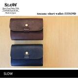 SLOW(���?)�쥶�����硼�ȥ�����å�toscana-shortwallet-333S39D����̵��