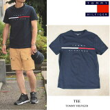 TOMMYHILFIGER(トミーヒルフィガー)TEETシャツ半袖メンズ・レディースNAVYネイビーアメリカ買付品!