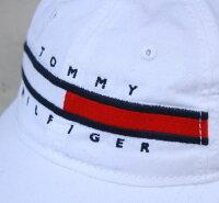 TOMMYHILFIGER(トミーヒルフィガー)コットンキャップWHITEホワイト