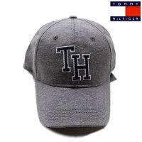 TOMMYHILFIGER(トミーヒルフィガー)コットンキャップベースボールキャップメンズ・レディースGREYグレーCAP帽子アメリカ買付品