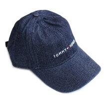 TOMMYHILFIGER(トミーヒルフィガー)コットンキャップベースボールキャップメンズ・レディースCAP帽子アメリカ買付品デニム