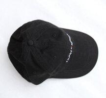 TOMMYHILFIGER(トミーヒルフィガー)コットンキャップベースボールキャップメンズ・レディースCAP帽子アメリカ買付品BLACKブラック