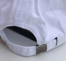 TOMMYHILFIGER(トミーヒルフィガー)コットンキャップベースボールキャップメンズ・レディースCAP帽子アメリカ買付品WHITEホワイト