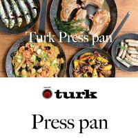 TURKタークプレスパン浅型28cm鉄製フライポンドイツ製本格フライパンアウトドアキャンプソロキャンプデイキャンプ