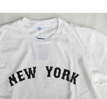 Velvasheenベルバシーン161983NYモチーフTEEニューヨークTシャツWHITEホワイト