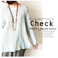 04月01日 新発売l!! 【Check tunic】