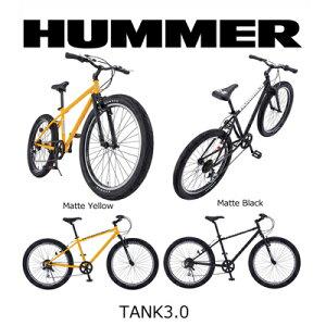 HUMMER ハマー 26インチ FAT BIKE TANK3.0 ファットバイク ATB 26×3.0インチ極太タイヤ