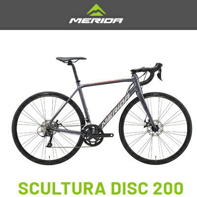 MERIDA(メリダ)『SCULTURA DISC 200 2020年モデル』