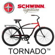 30%OFF SCHWINN シュウィン TORNADO トルネード 自転車 ビーチクルーザー 2017年モデル