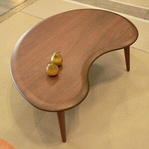 Beanビーン120ウォールナットコタツ幅120×奥行80×高38cmタカタツTakatatsu国産日本製ソファーテーブルこたつソファテーブル変形天板