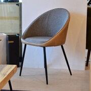 カフェスタイルアイアン製1Pチェアダイニングチェアカフェチェアアイアン×木材×ファブリックスタイリッシュインダストリアルテイストスチールフレームシンプルおしゃれ椅子チェアーおしゃれデザイン